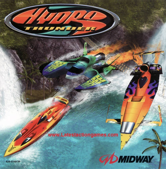 HYDRO THUNDER Free Full Version Games Download For PC