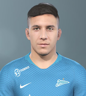 PES 2019 Faces Sebastián Driussi by Vlad_R