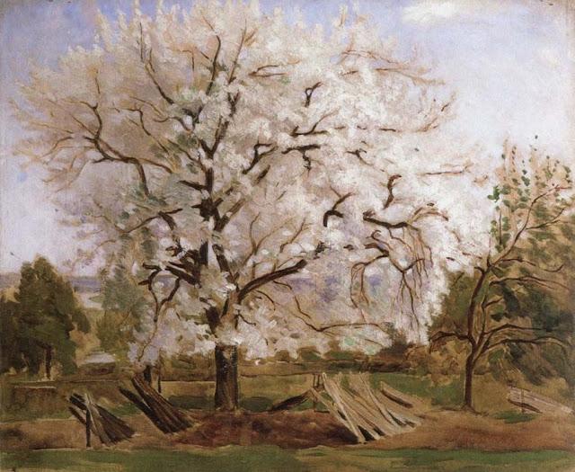 Carl Fredrik Hill - El manzano en flor - 1877