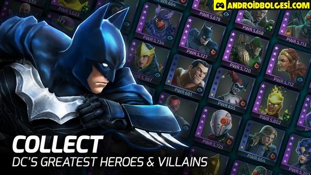 DC Legends: Battle for Justice Mod Apk indir