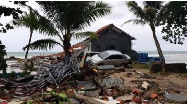 Indonesia Tsunami Confirmed 222 Deths 800 Over Injured