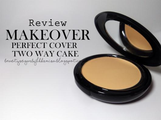 Make Over Perfect Cover Two Way Cake - Bedak padat yang bagus untuk bayi