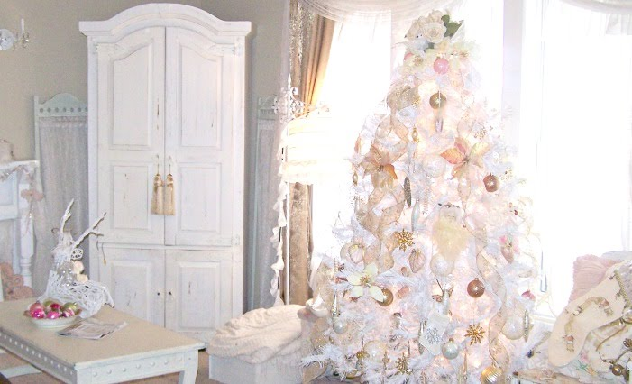 Olivia S Romantic Home Merry Shabby Chic Pink Christmas