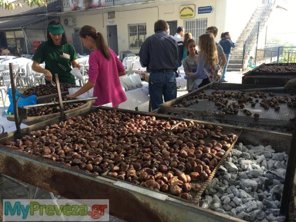 Άρτα: Κέρδισε και πάλι το ενδιαφέρον του κόσμου η Γιορτή Κάστανου και Τσίπουρου στη Ροδαυγή Άρτας