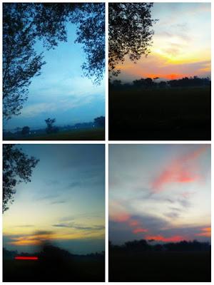 Awan Membentuk Wajah Manusia Terlihat Jelas di Langit Klaten