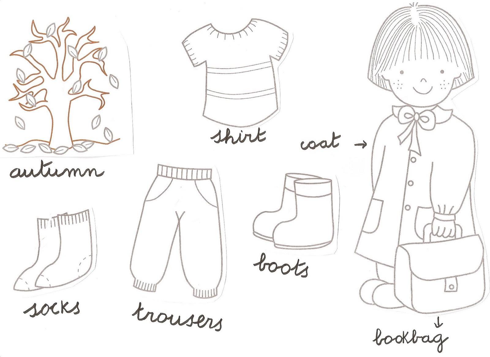 dibujos para colorear ropa de ni os y bebes
