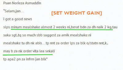 Shaklee Weight Gain Set