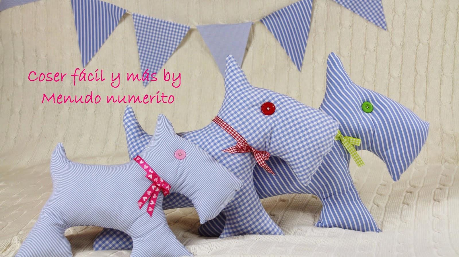 El blog de coser f cil y m s by menudo numerito - Cojines infantiles originales ...