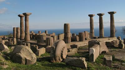 Πιθανά ίχνη αρχαίου σεισμού στην Άσσο