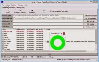 Lenovo S939 installing custom recovery TWRP v2 8 1 0 with