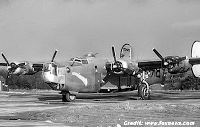 B-24 Used By The 489th Bomb Group