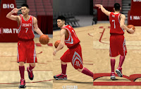 NBA 2K13 Houston Rockets Jersey Patch - Jeremy Lin