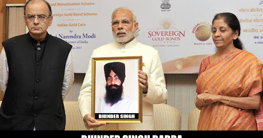 #Bhinder_Badra - Surprise With Narendra Modi