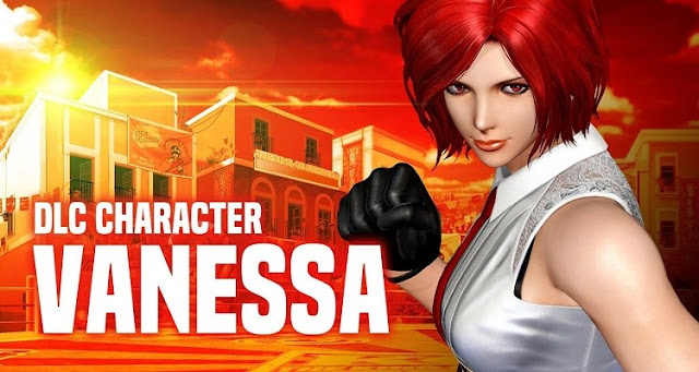 The King of Fighters XIV - Vanessa DLC Character