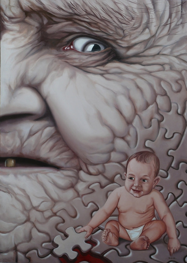 13-Ages-of-Time-Mihai-Cristeis-Surreal-Art-and-Optical-Illusion-Paintings-www-designstack-co