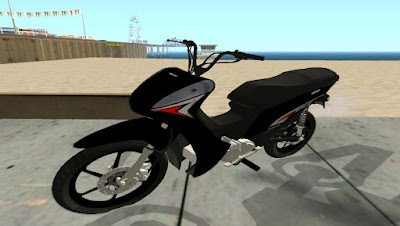 mod Moto HONDA BIZ 125 DICHAVADA para GTA San Andreas , GTA SA