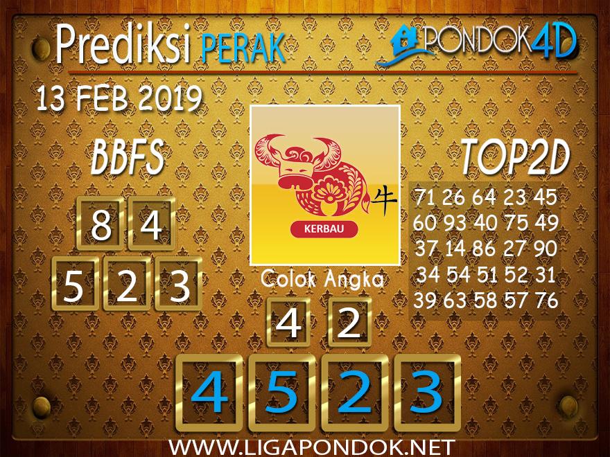 Prediksi Togel PERAK PONDOK4D 13 FEBRUARI 2019