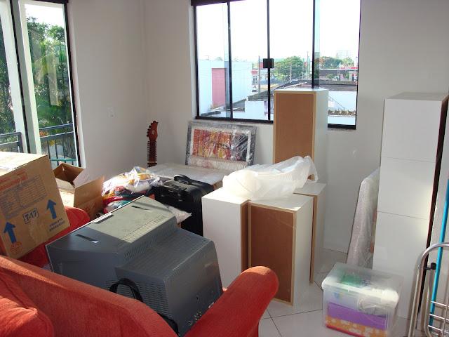 Mudança Residencial - Bagunça