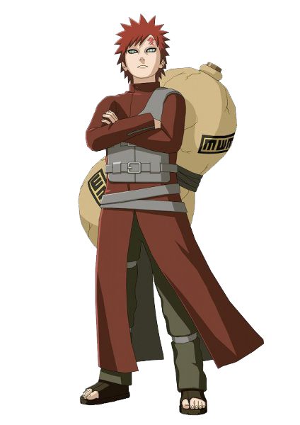 Gaara - anime Naruto