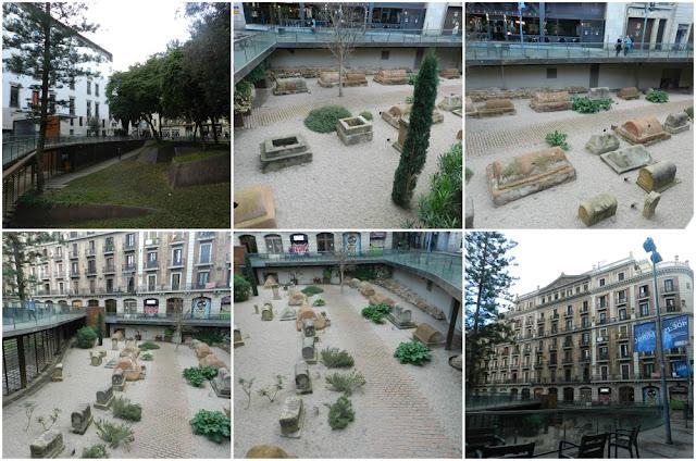 Museu de História de Barcelona (MUHBA) - Via Sepulcral Plaza de la Villa de Madrid