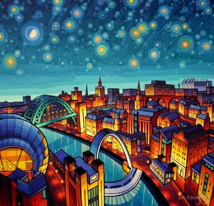 Городские пейзажи. Jim Edwards