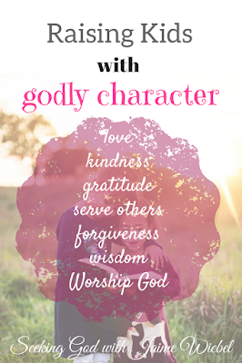 Teaching our kids godly character can be tough. They are in a world where they are faced with anything but. It is important that we prepare them for now and as growing independent adults. love, kindness, gratitude, serving others, worship God, forgiveness, wisdom