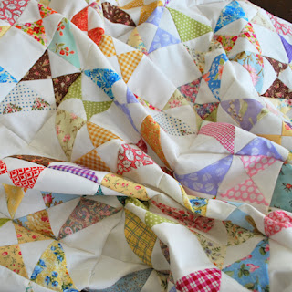 Snippets quilt: QuiltBee