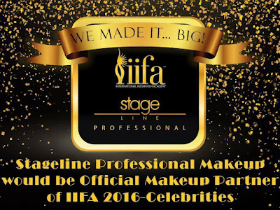 StageLine Professional Makeup Chosen as Official Makeup for IIFA Awards Bollywood