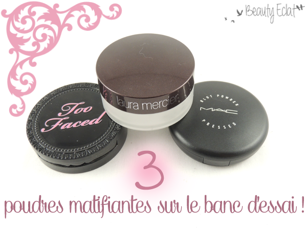 revue comparative poudre matifiante too faced laura mercier mac