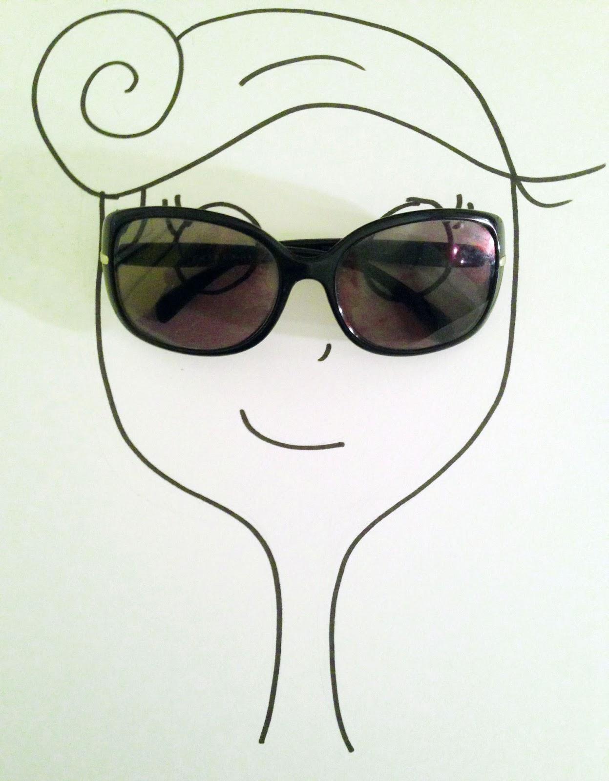 L Agenda d Agathe   Canicule  je dors avec mes lunettes de soleil ... 8b08b10153d