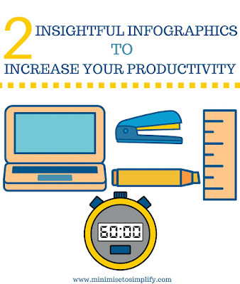 2 INSIGHTFUL INFOGRAPHICS TO INCREASE YOUR PRODUCTIVITY