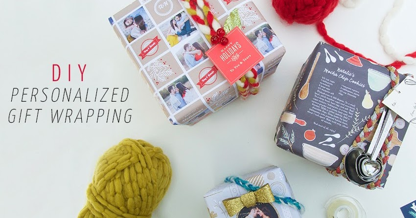 DIY Personalized Gift Wrapping Minted Giveaway