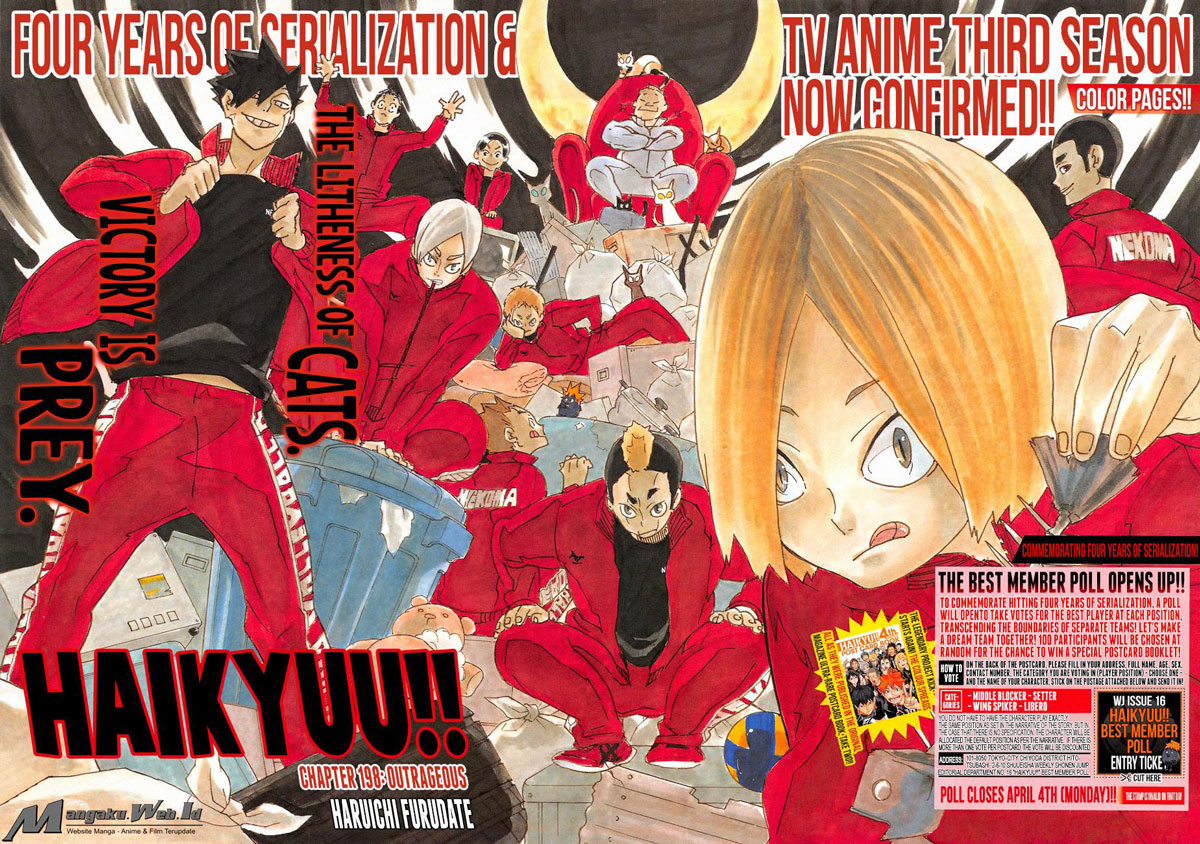 Haikyuu Chapter 198-3