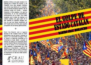 El golpe de estado catalán, nuevo libro de Ramiro Grau Morancho