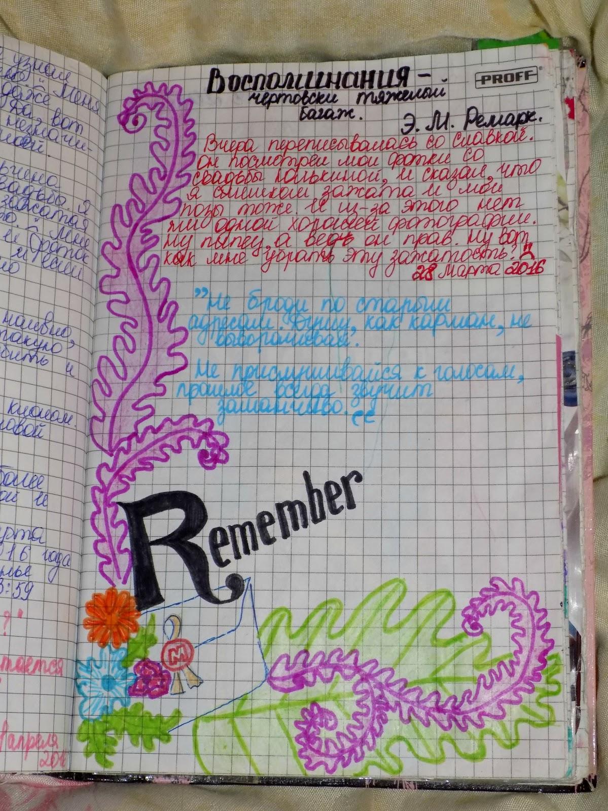 Картинки на английском мой личный дневник