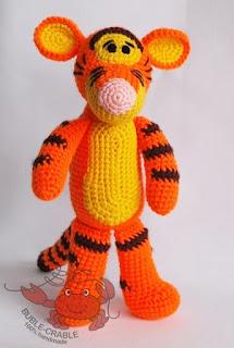 Życiowo z szydełkowym Tygryskiem