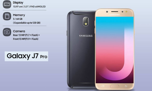 Samsung Galaxy J7 Pro SM-J730G U5 Stock Firmware Rom (Flash File