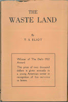 "A paper cover for ""The Waste Land."""