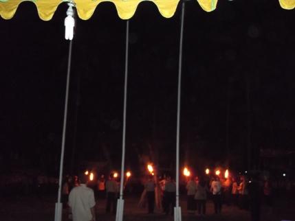 Pramuka ABK di Pangandaran