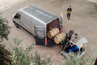 Mercedes-Benz Sprinter Panel Van (2019) Rear Side