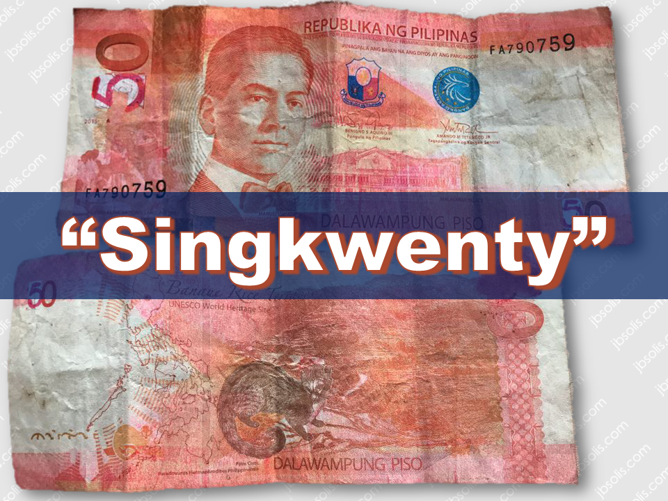 """Fake bills are everywhere and it is spawning as the holiday season approaches. Some people are starting their holiday shopping  to avoid the rush. Never forget to be vigilant and street wise not to be victimized by people who are spreading fake peso bills.  BSP currency integrity staff deputy director Grace Malic said that small denomination bills are usually tampered since they are less likely to be checked individually.   Sponsored Links Ageygey Hadjiphanis went on a shopping in Divisoria and thats where she got the fake bill. She was too tired to realize the 2's on the bill had been altered and replaced with 5's. Making the twenty peso bill look like a fifty peso bill.  The Bangko Sentral ng Pilipinas released guidelines to identify fake bank notes summarizing it into three words:  """"Look, feel and tilt"""".  To know if the bills you have is genuine, you should check for these things:  1. Embossed prints: The embossed or raised print nature of the ink deposition combined with the quality of cotton-based paper gives the traditional banknote a unique tactile effect that makes it the first and the most important line of defense against counterfeiting. This can be felt over the words """"REPUBLIKA NG PILIPINAS,"""" denominational value in text, signatures, and value panels particularly, the one located at the lower right corner of the obverse.  2. Asymmetric Serial Number: Alphanumeric characters at the lower left and upper right corners of the note bearing one or two prefix letters and six to seven digits, with font increasing in size and thickness.  3. Security Fibers: Visible red and blue fibers embedded on the paper and randomly scattered on the face and back of the note.   4. Watermark: Shadow image of the portrait with the highlighted denominational value that is particularly seen against the light from either side of the blank space on the note.   5. See-Through Mark: The pre-Hispanic script (Baybayin) at the lower right corner of the face of the note slightly above the"""