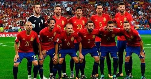 Daftar Skuad Pemain Timnas Spanyol 2018 Terbaru (Piala ...