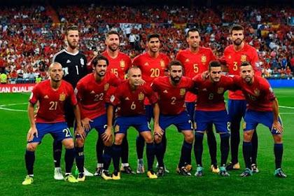 Daftar Skuad Pemain Timnas Spanyol 2019 Terbaru [UPDATE]