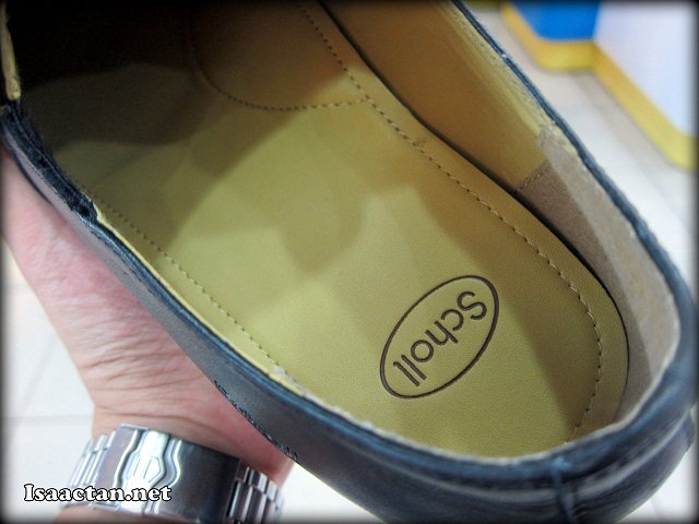 Scholl, the brand, my shoes