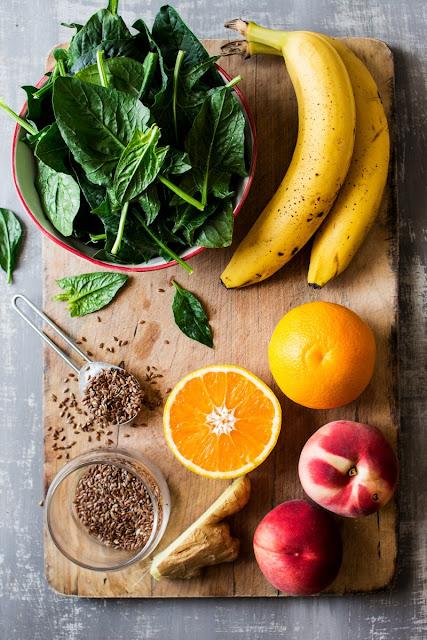 Recette : smoothie vert végétalien