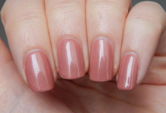 kiko nail lacquer 217 antique pink nah