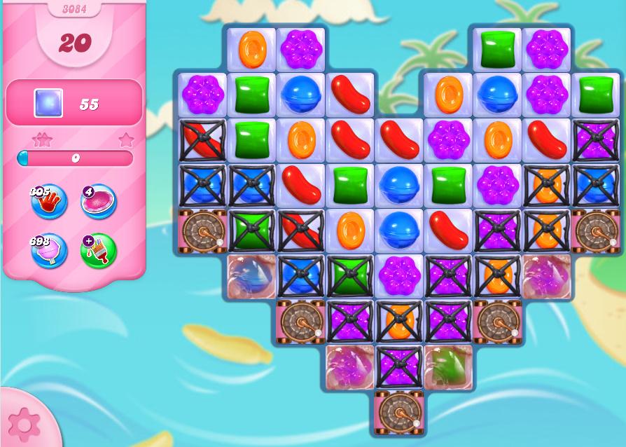 Candy Crush Saga level 3084