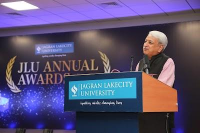 Jagran Lakecity University's Annual Awards 2017-18