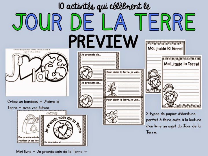 https://www.teacherspayteachers.com/Product/10-activites-pour-le-Jour-de-la-Terre-10-FRENCH-Earth-Day-activities-1799009
