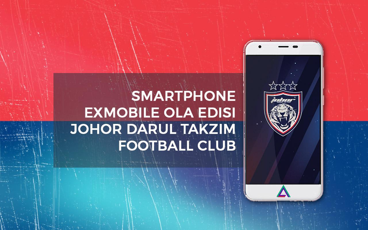 Smartphone EXmobile Ola Edisi Johor Darul Takzim FC (JDT)
